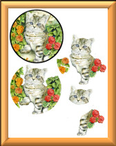 3D Kitten sheet 2