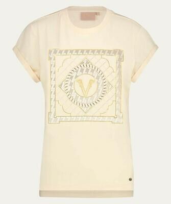 Dora Multi Print V T-Shirt