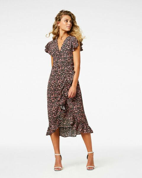 Rosy Long Dress