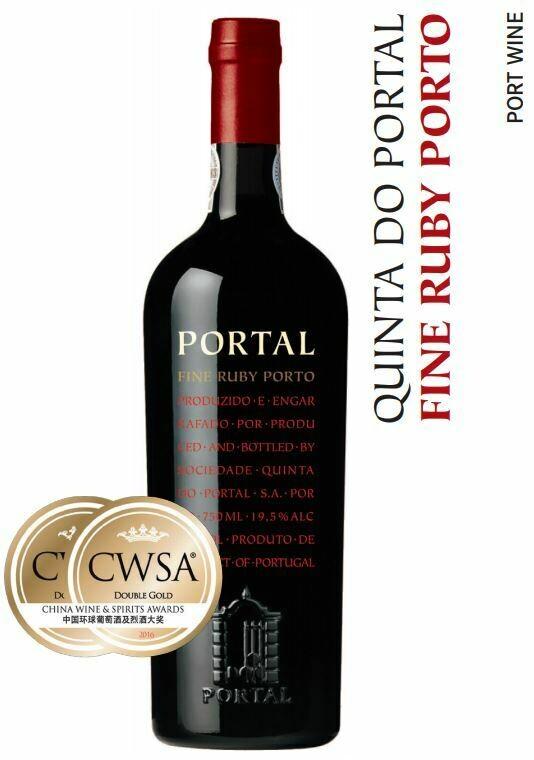Quinta Do Portal Fine Ruby Port - 75cl