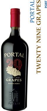 Quinta Do Portal 29 Grapes Ruby Reserve Port - 75cl