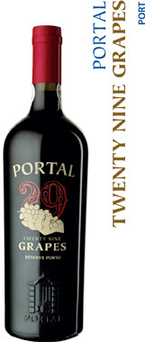 Quinta Do Portal 29 Grapes Ruby Reserve Port - 75cl