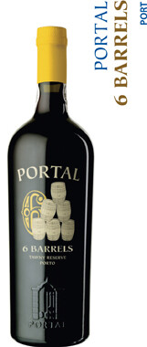 Quinta Do Portal 6 Barrels Tawny Reserve Port - 75cl