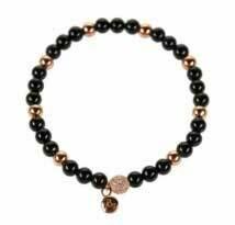 Beauzin armband onyx bb0020