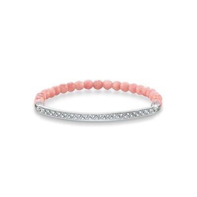 Thomas Sabo armband Love Bridge LBA0003 coraal