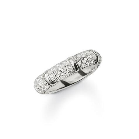 Thomas Sabo ring TR1902 wit