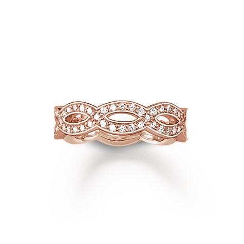 Thomas Sabo ring TR1973 rosé