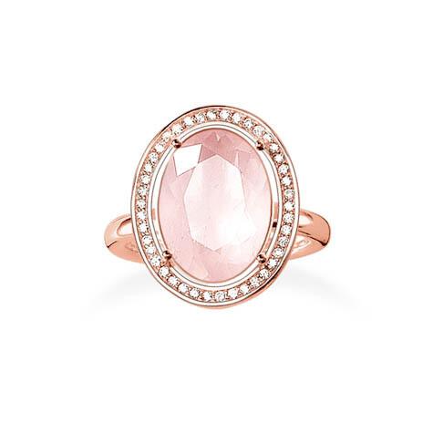 Thomas Sabo ring TR2044 roze