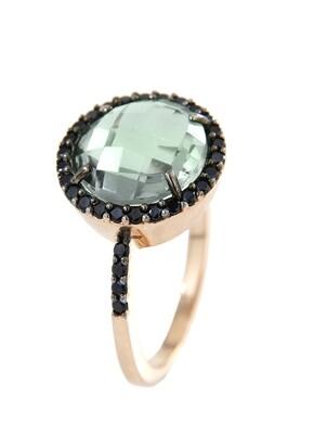 Bronzallure ring WSBZ00439G Groen