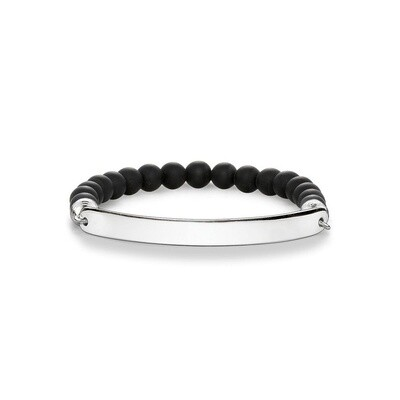 Thomas Sabo armband Love Bridge LBA0014 zwart