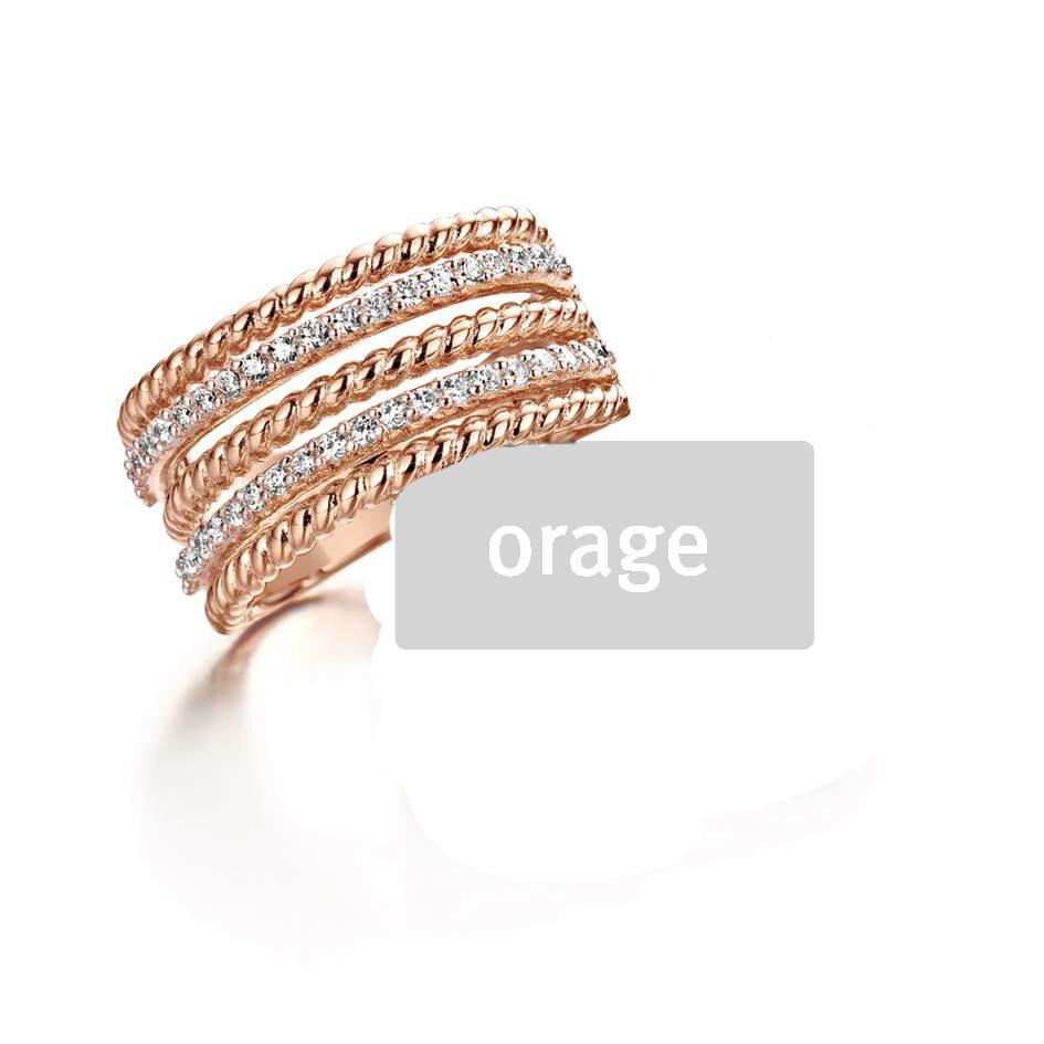Orage ring Ar119 rose