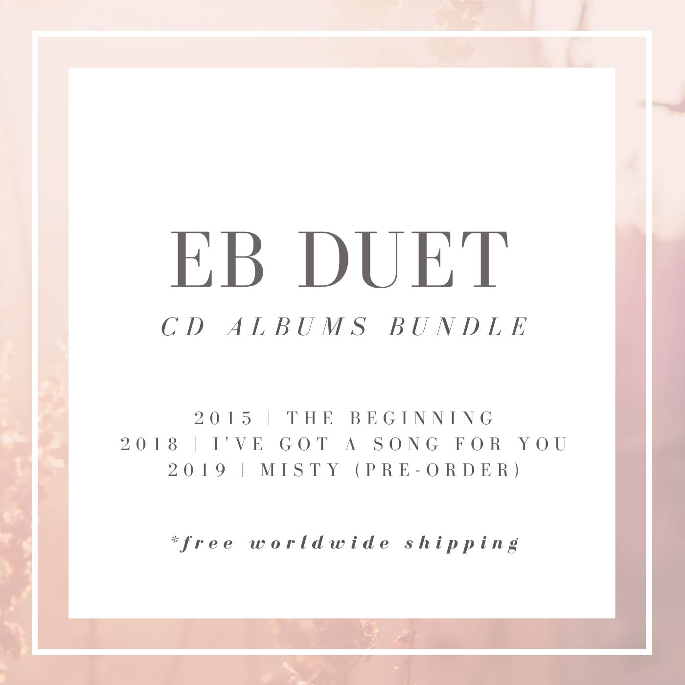 EB duet CD Albums Bundle