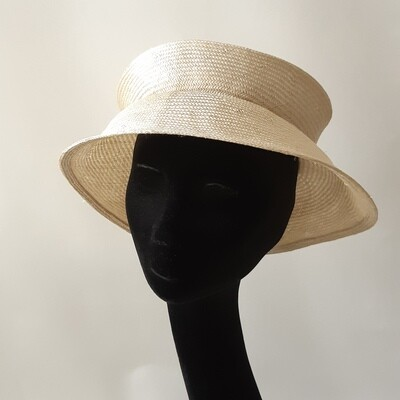 Tartière - Travel hat  in parasisal met 1 plooi