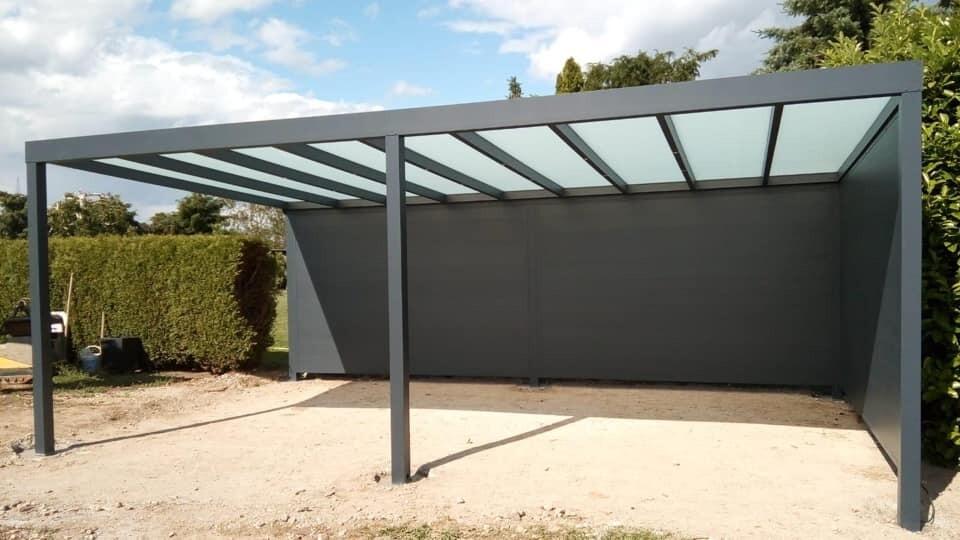 ProLuxe Aluminium Carport - VSG Glas