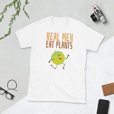 Real Men Eat Plants Muskmelon - White