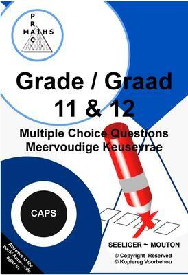 Gr 11 & 12 Multiple Choice / Meervoudige Keusevrae