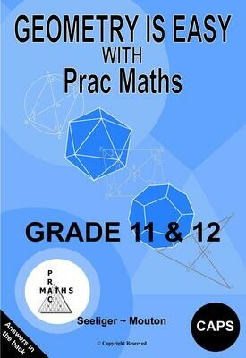 GEOMETRY IS EASY GRADE 11 & 12 – PDF