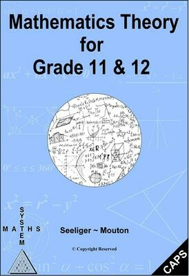 Mathematics Theory for Gr 11&12 - PDF