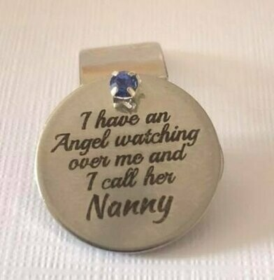 Nanny Watching Over Me Charm