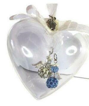 Twin Baby Memorial Charm Bauble