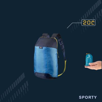 დასაკეცი ლურჯი ჩანთა 10L
