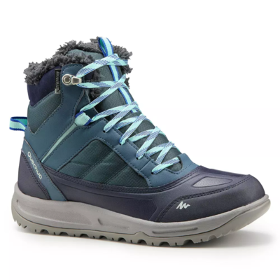 ლურჯი მაღალყელიანი ფეხსაცმელი 2326