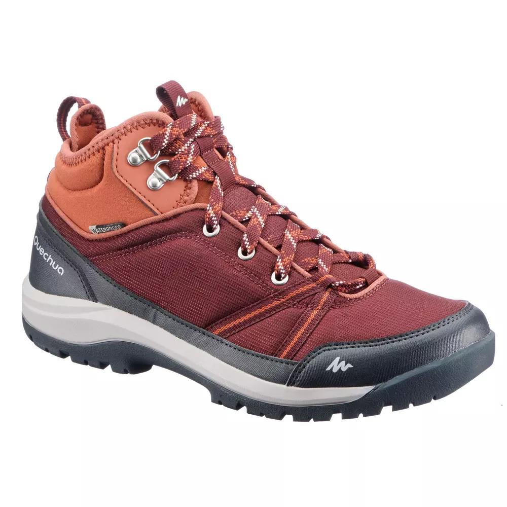 წითელი მაღალყელიანი ფეხსაცმელი 2336