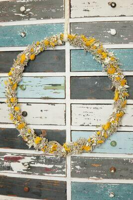 Trockenblumen-Kranz | Kinderzimmer Deko
