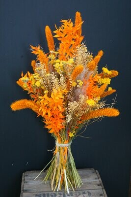 Safari Bouquet | dusted mandarine & yellow