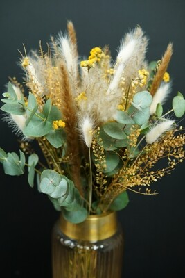 Smile for you | Trockenblumen Bouquet
