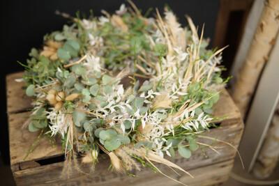 Eukalyptus Kranz | Lagurus | Ruskus