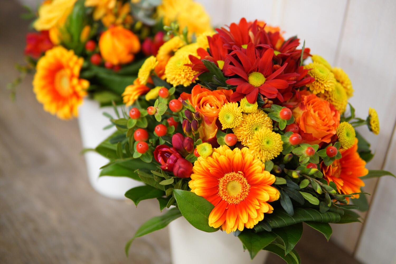 Grüß Omi oder Opi | Frischblumen | Bouquet