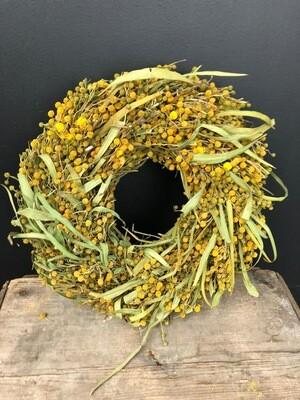 Kranz | getrocknete Mimose oder Farn