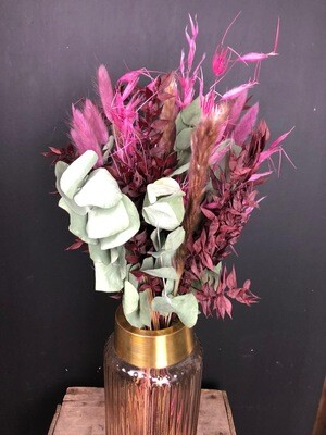 Berry Love | Trockenblumen Bouquet