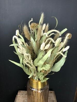 Green Love | Trockenblumen Bouquet