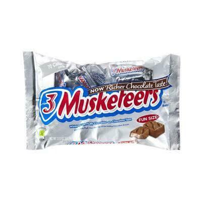3 Musketeers minis
