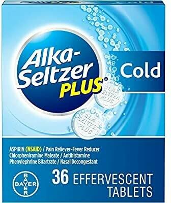 Alka-Seltzer Plus Cold