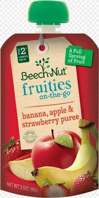 Apple Banana Strawberry - Baby Food Puree