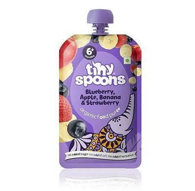 Apple Banana Blueberry - Baby Food Puree