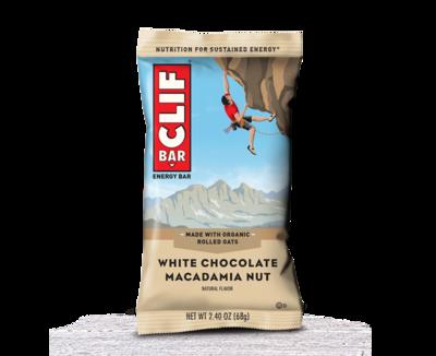 Bar Clif - white chocolate macadamia