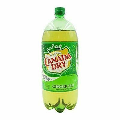 Canada Dry Ginger Ale Bottle