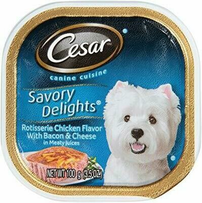 Cesar Savory Chicken With Bacon & Cheese