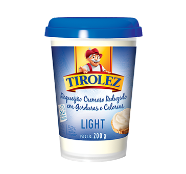 Cheese Requeijao Tirolez Light