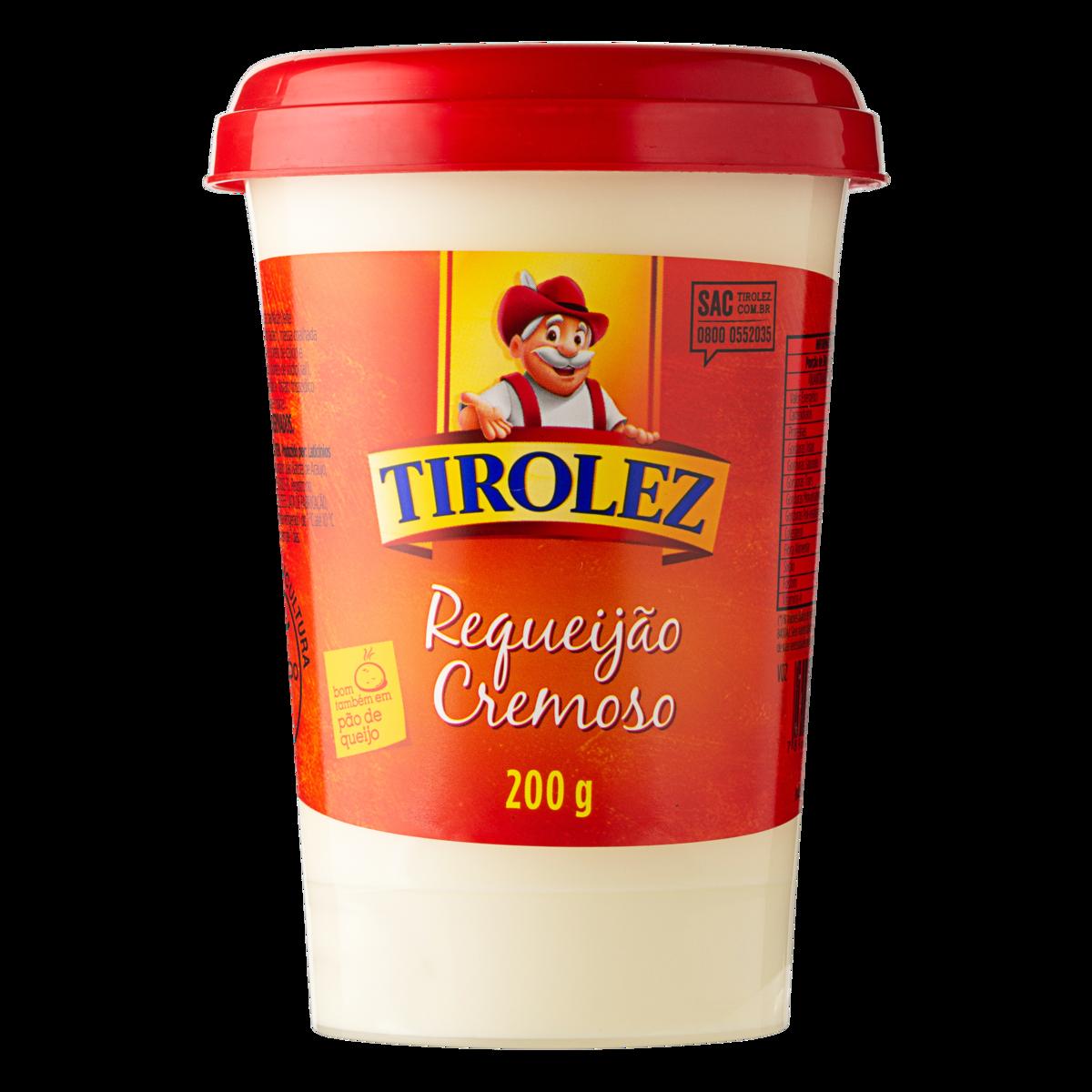 Cheese Requeijao Tirolez