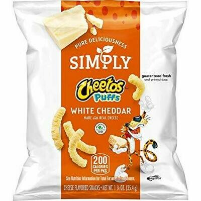 Cheetos Simply Cheese - White Cheddar - 8 oz