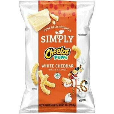 Cheetos Simply Cheese - White Cheddar