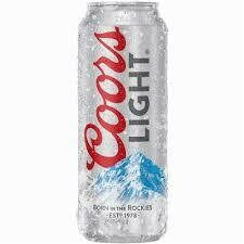Coors Light - 24fl oz Can