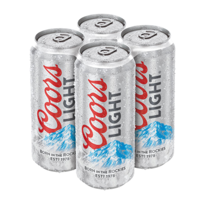 Coors Light - 4 packs