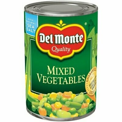 Delmonte mixed vegetables