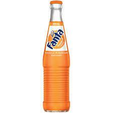 Fanta - Glass Bottle